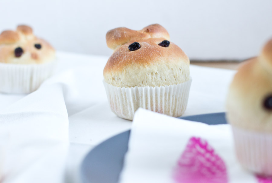 Brioche bunnies Easter brunch recipe