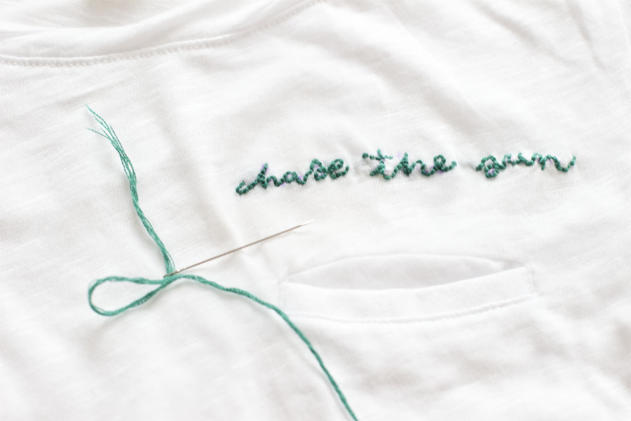 chase-the-sun-summer-t-shirt-stitching