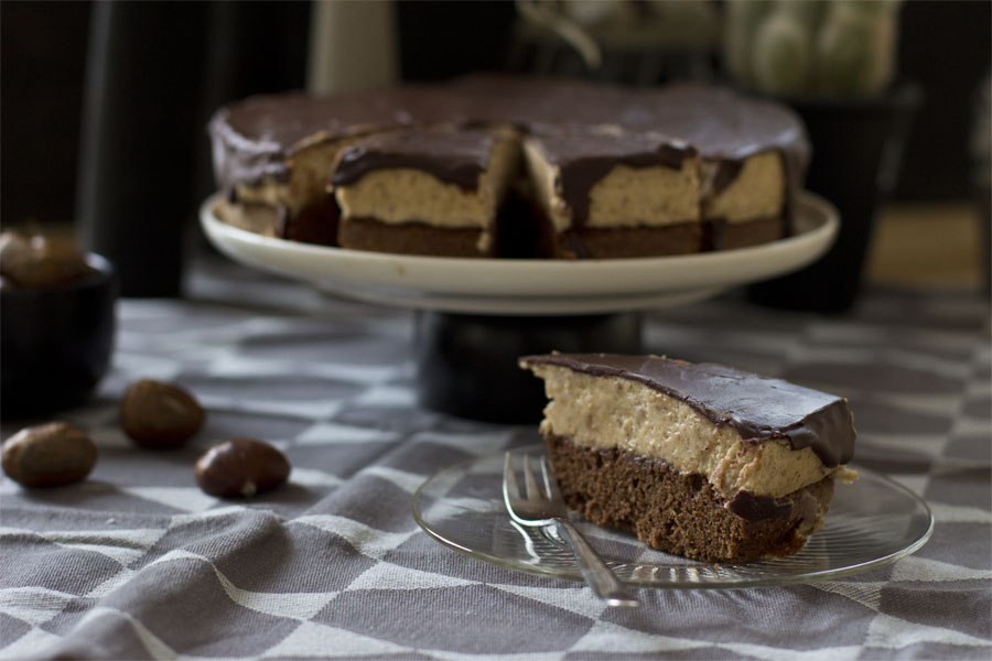 Chestnut cake | LOOK WHAT I MADE ...
