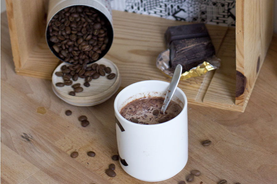 Coffee hot chocolate recipe | LOOK WHAT I MADE ...