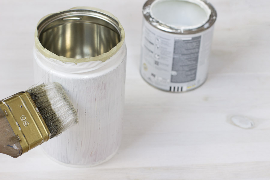 Upcycle an old coffee tin to make beautiful storage for your bits and bobs. | LOOK WHAT I MADE...