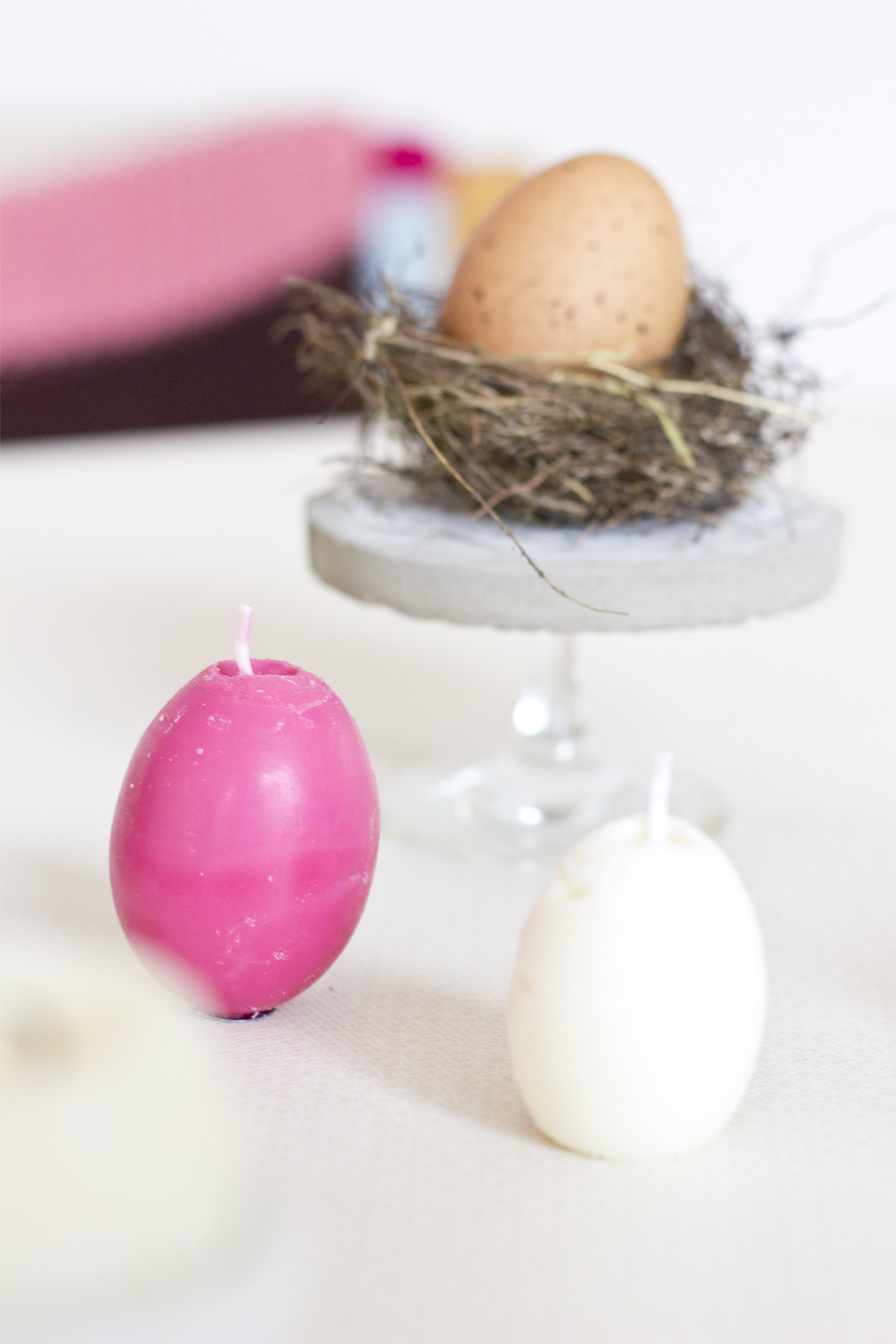 DIY egg-shaped soy wax candles for Easter | LOOK WHAT I MADE ...