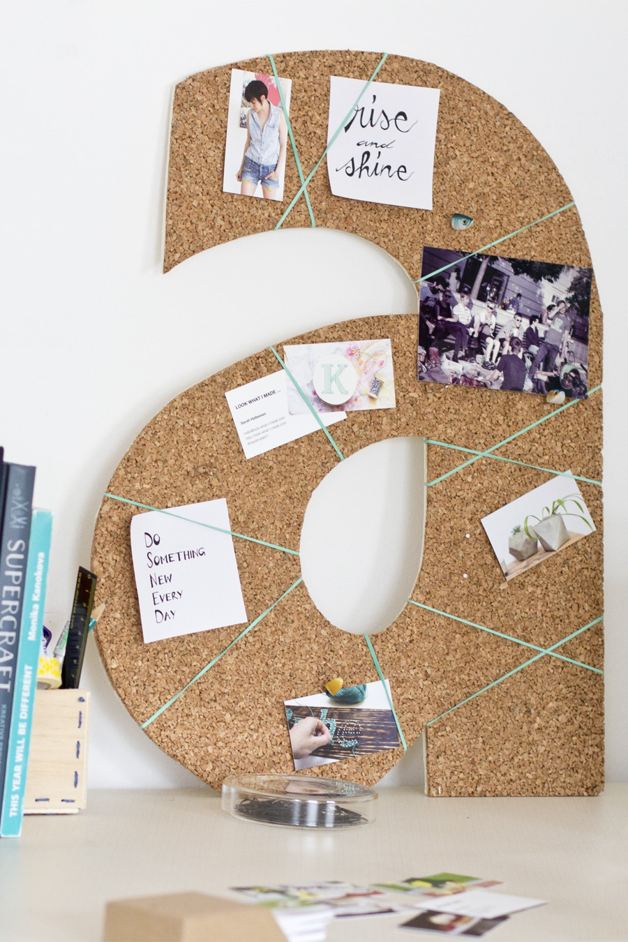 DIY cork pinboard | LOOK WHAT I MADE ...
