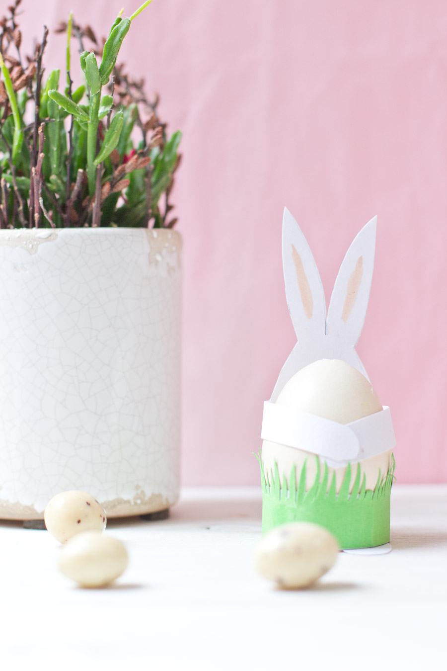 DIY easter paper bunnies tutorial