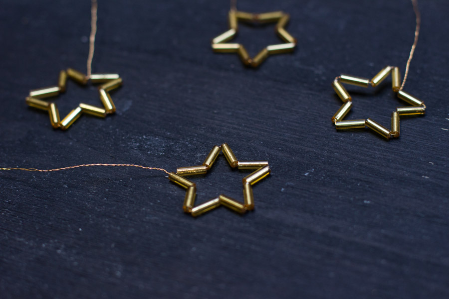 DIY golden stars for a (tiny) Christmas tree   LOOK WHAT I MADE ...