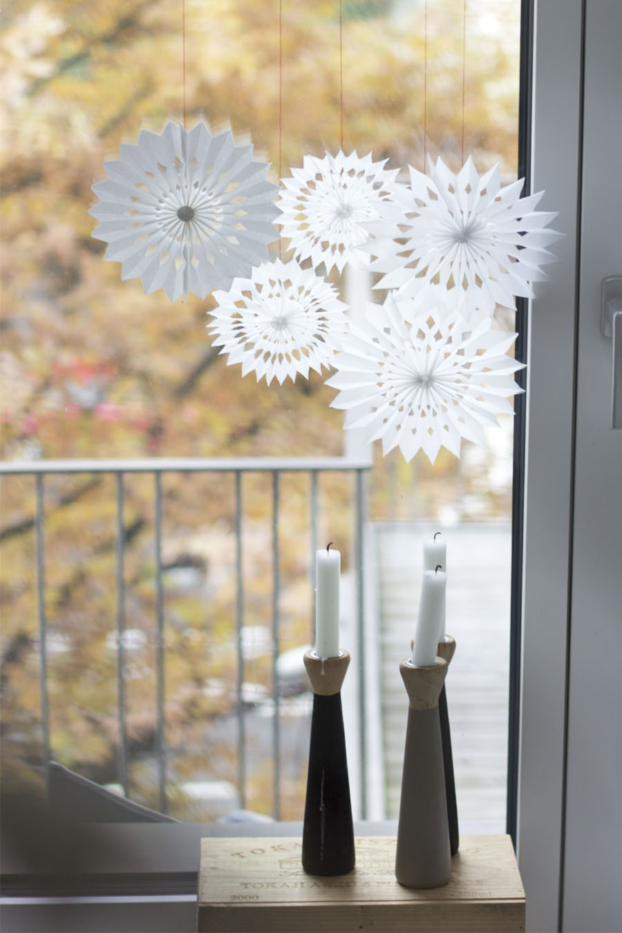 DIY paper snowflake | LOOK WHAT I MADE ...