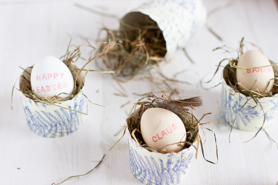 Easter egg place cards DIY | LOOK WHAT I MADE ...