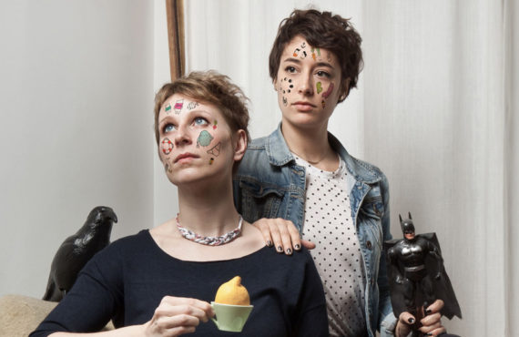 Look who made it: Elke Bauer and Barbara Hoffmann from…