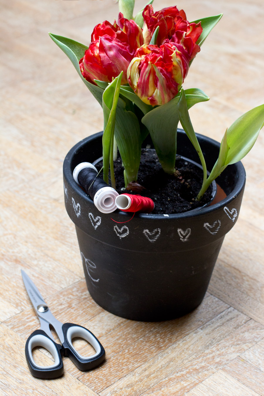 All you need for embroidered flowers