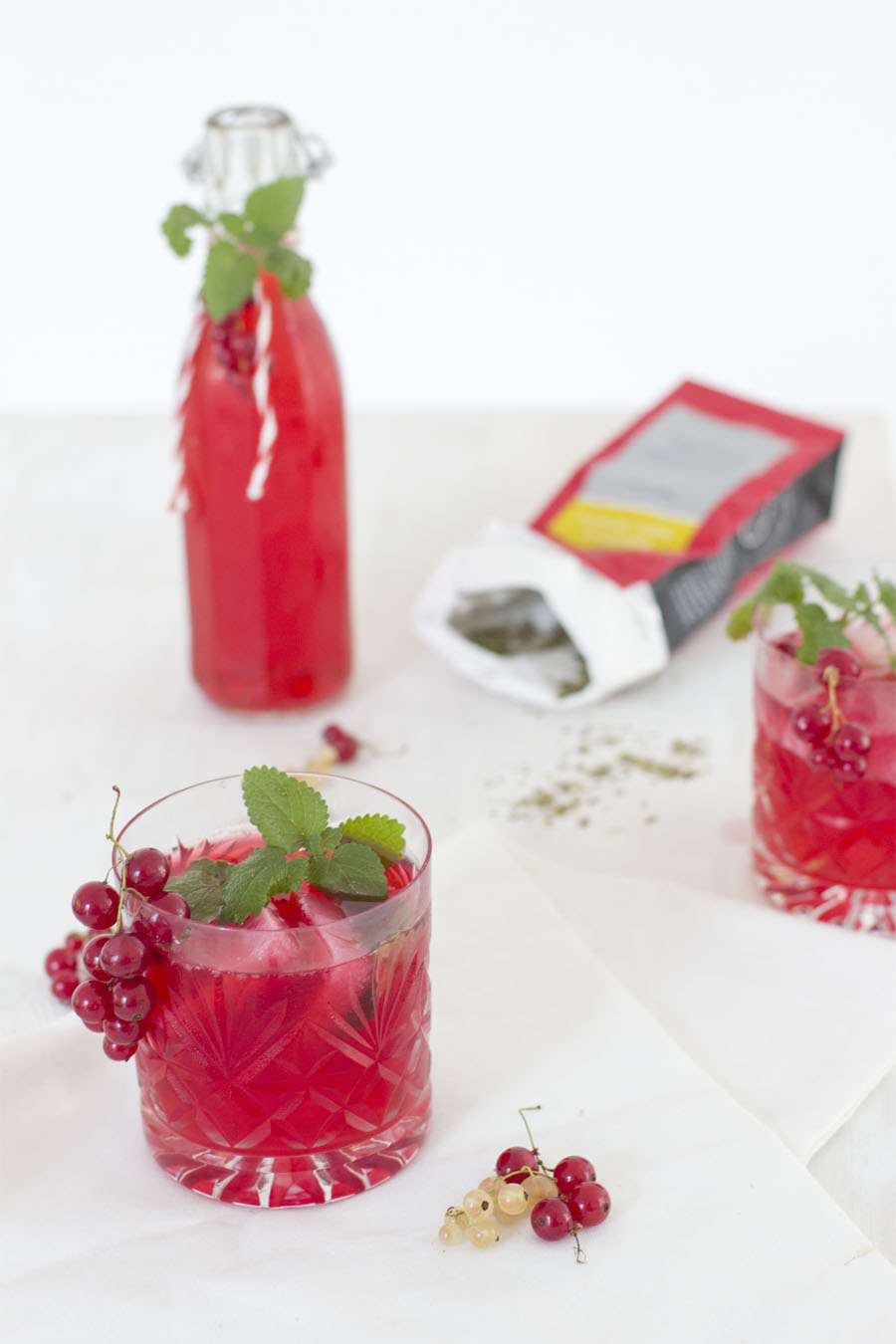 Red currant mate ice tea recipe | LOOK WHAT I MADE ...