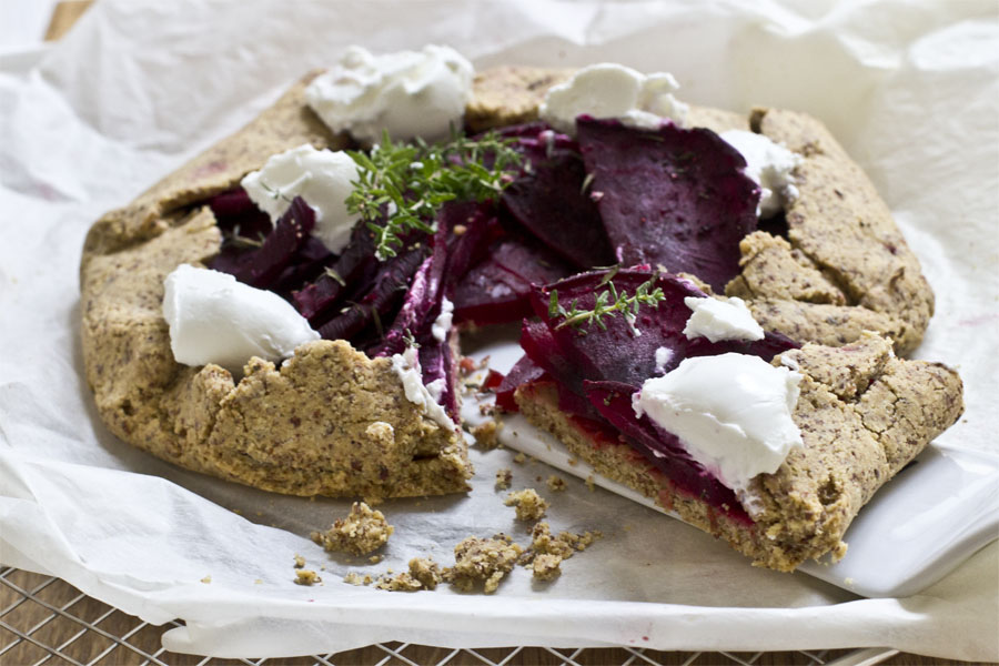 Glutenfree savory beetroot galette | LOOK WHAT I MADE ...