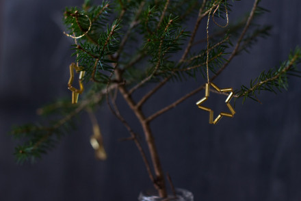 DIY golden stars for a (tiny) Christmas tree | LOOK WHAT I MADE ...