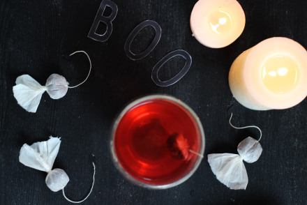halloween ghost tea bags diy