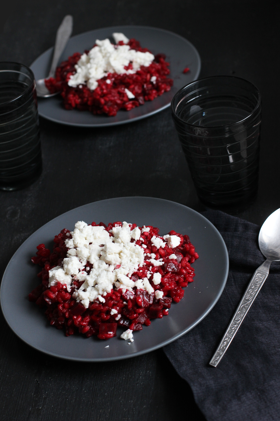 Healthy beetroot barley risotto recipe with feta cheese | LOOK WHAT I MADE ...