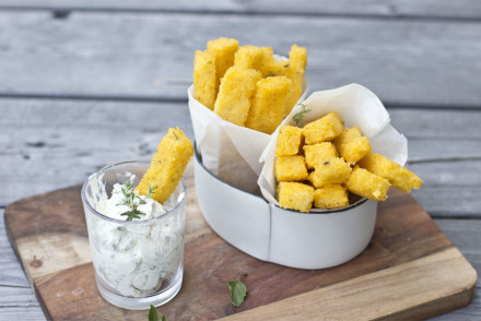 Fake fries? Healthy polenta sticks! | LOOK WHAT I MADE ...