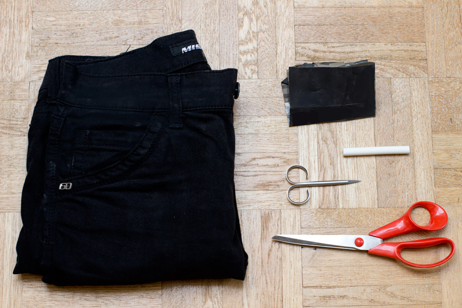 how-to-cut-off-jeans-shorts-supplies