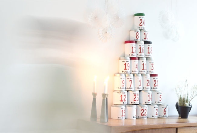 DIY coffee tin advent calendar | LOOK WHAT I MADE ...