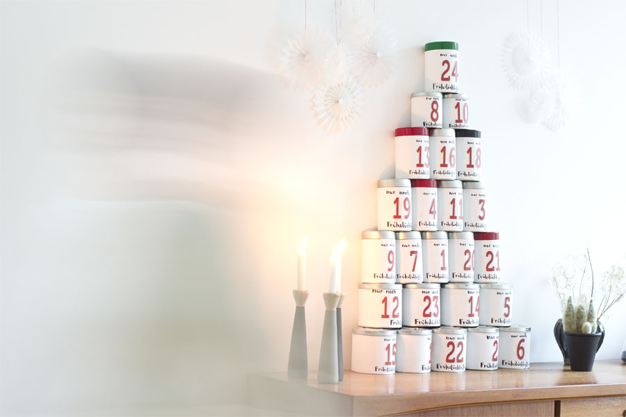 DIY coffee tin advent calendar | LOOK WHAT I MADE ...