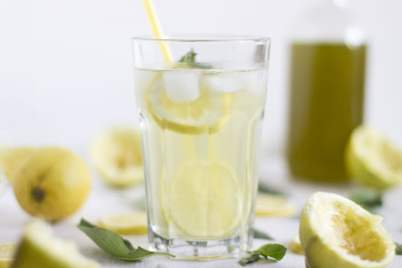 Lemon and basil get married into one delicious summer lemonade | LOOK WHAT I MADE ...