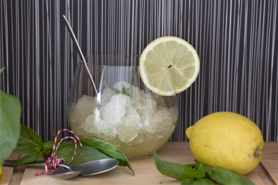 Simple Lemon Granita Recipe — Dishmaps
