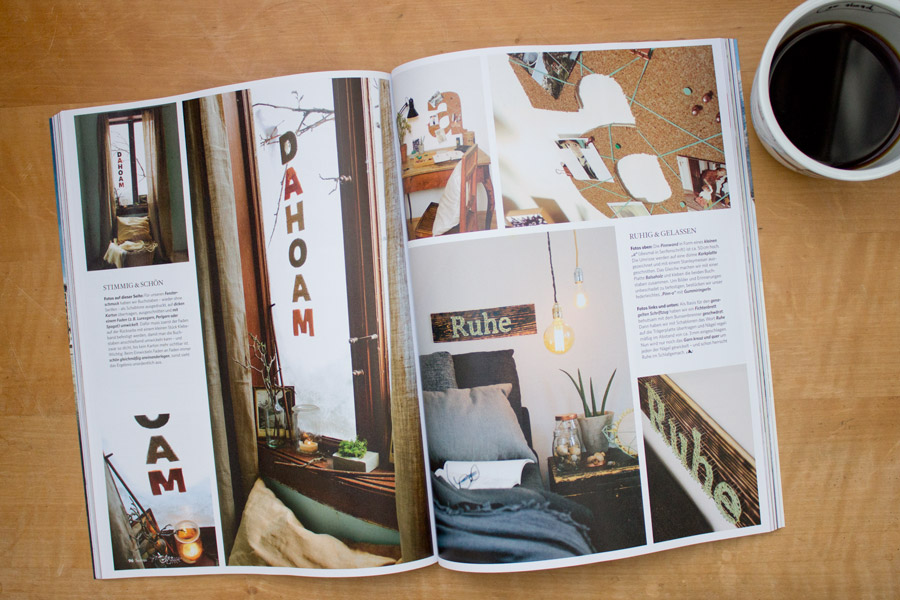 magazine styling job servus magazin january issue look what i made. Black Bedroom Furniture Sets. Home Design Ideas