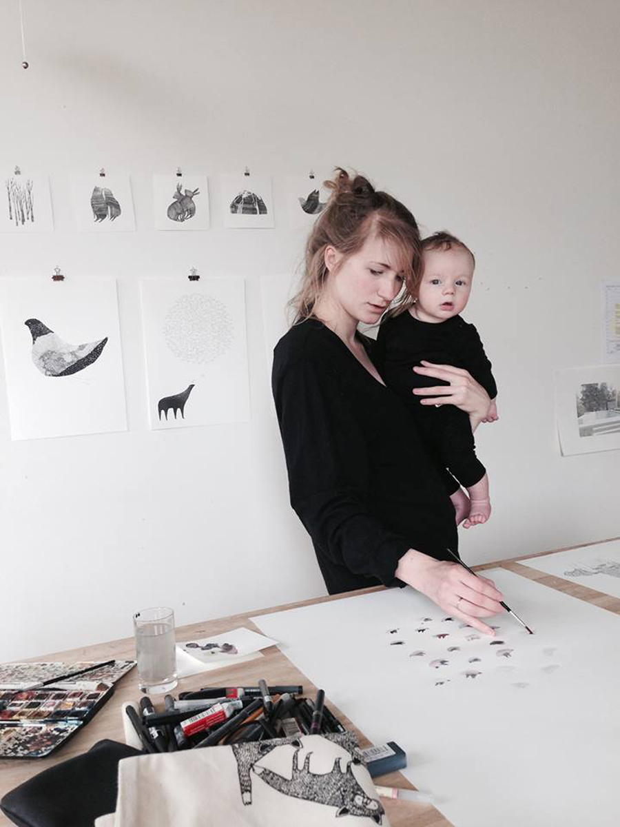 LOOK WHO MADE IT: Interview with the illustrator and creative mind behind Majasbok Maja Säfström | LOOK WHAT I MADE ...
