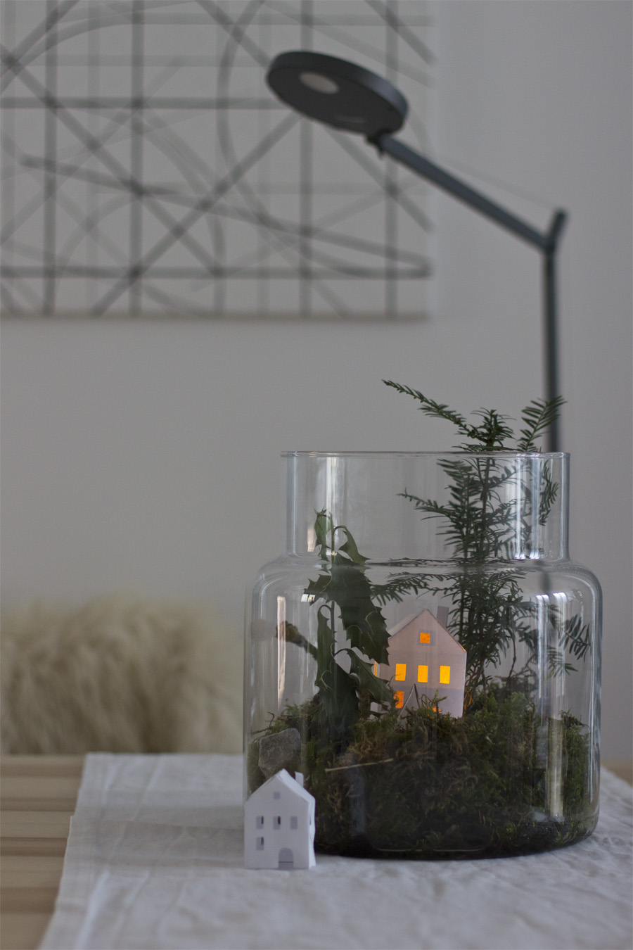winter landscape in a glass | LOOK WHAT I MADE ...