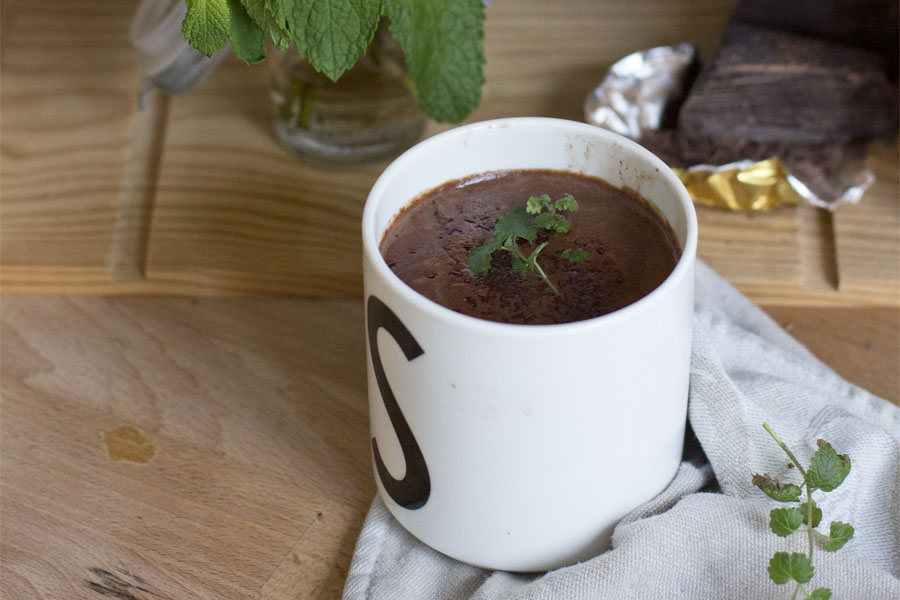 Mint hot chocolate recipe   LOOK WHAT I MADE ...