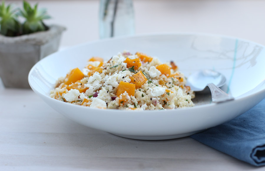 (Home) Office lunch: Couscous with pumpkin and feta | LOOK WHAT I MADE ...