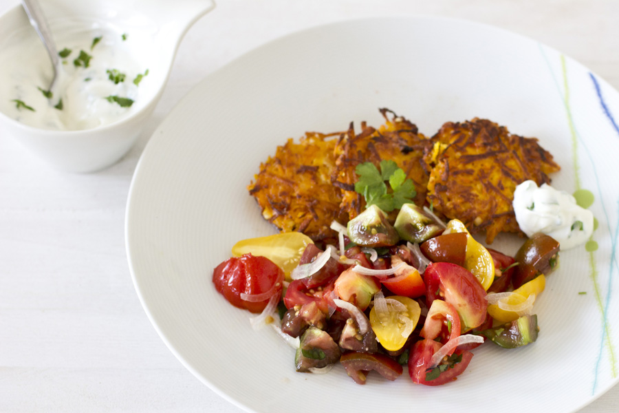 recipe: tomato and feta fritters [10]..