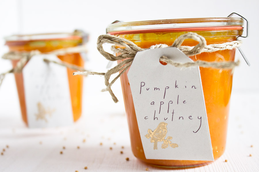 pumpkin apple chutney recipe
