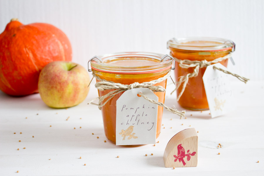 pumpkin-ginger-chutney-with-apple