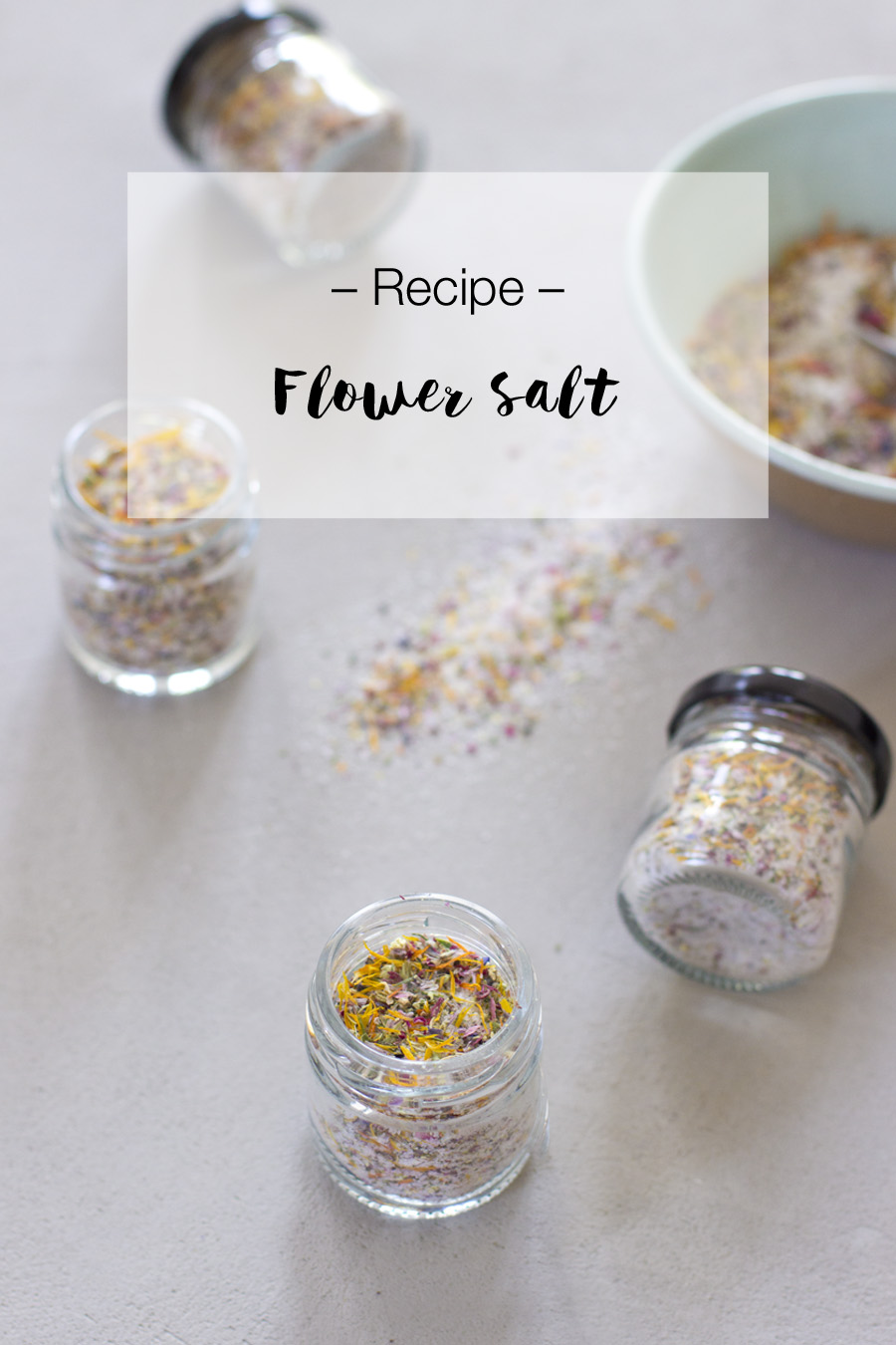 Make your own flower salt | LOOK WHAT I MADE ...