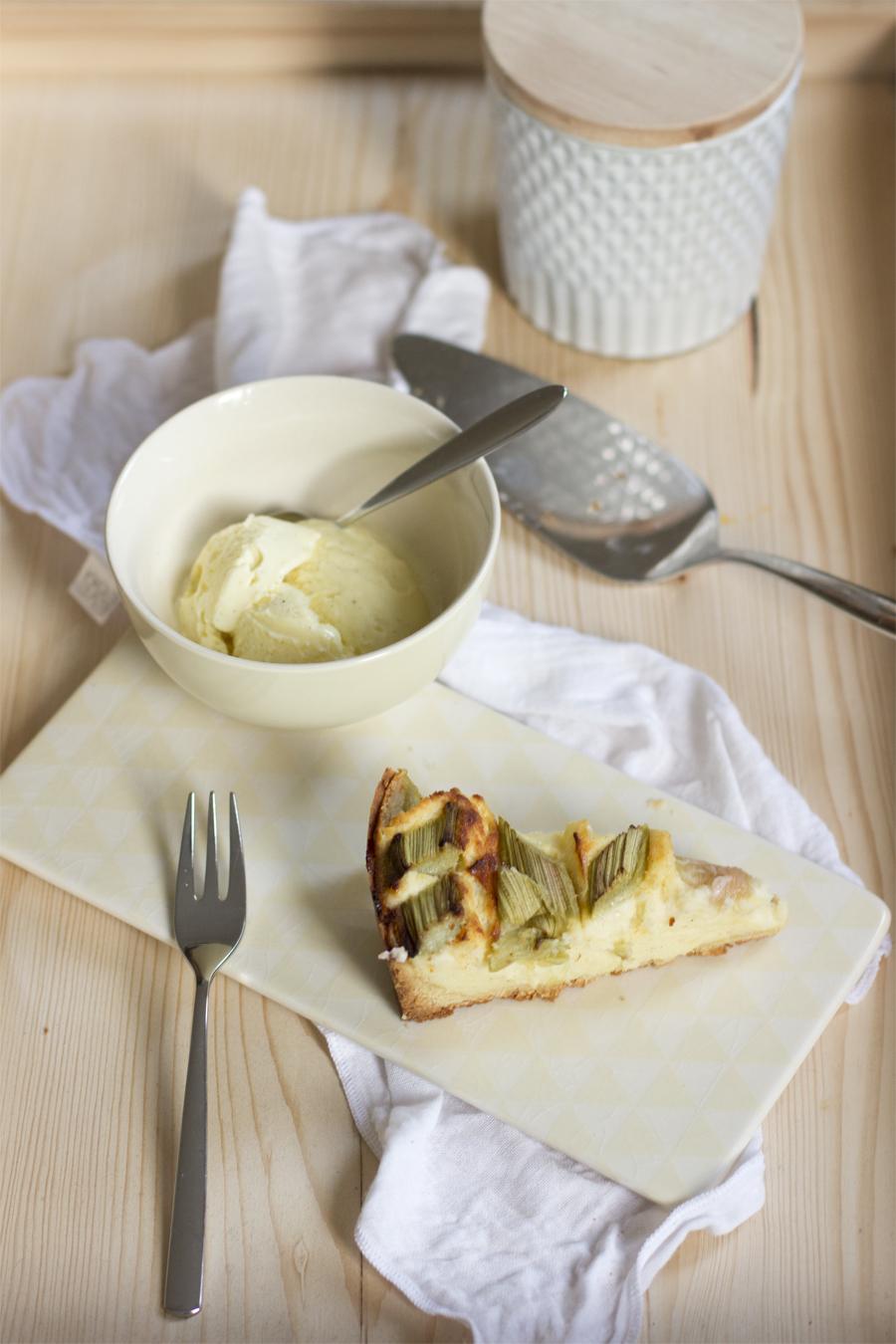 Rhubarb cream cheese cake recipe | LOOK WHAT I MADE ...