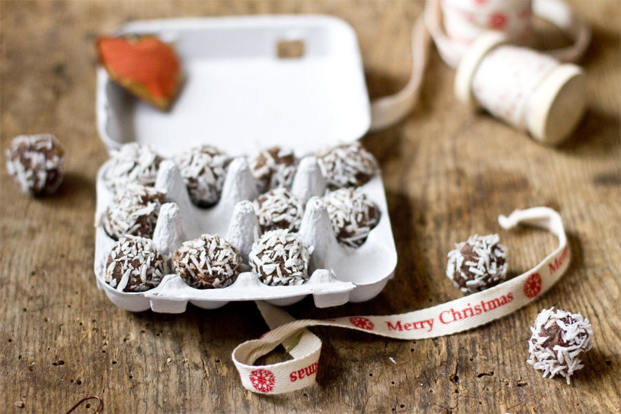 Chocolate rum pralines recipe