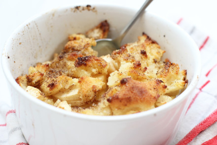 (Home) Office Lunch: semolina apple casserole | LOOK WHAT I MADE ...
