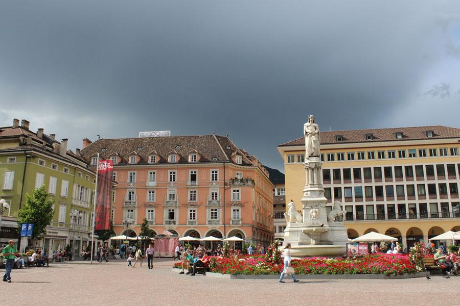 bozano south tyrol dramatic weather