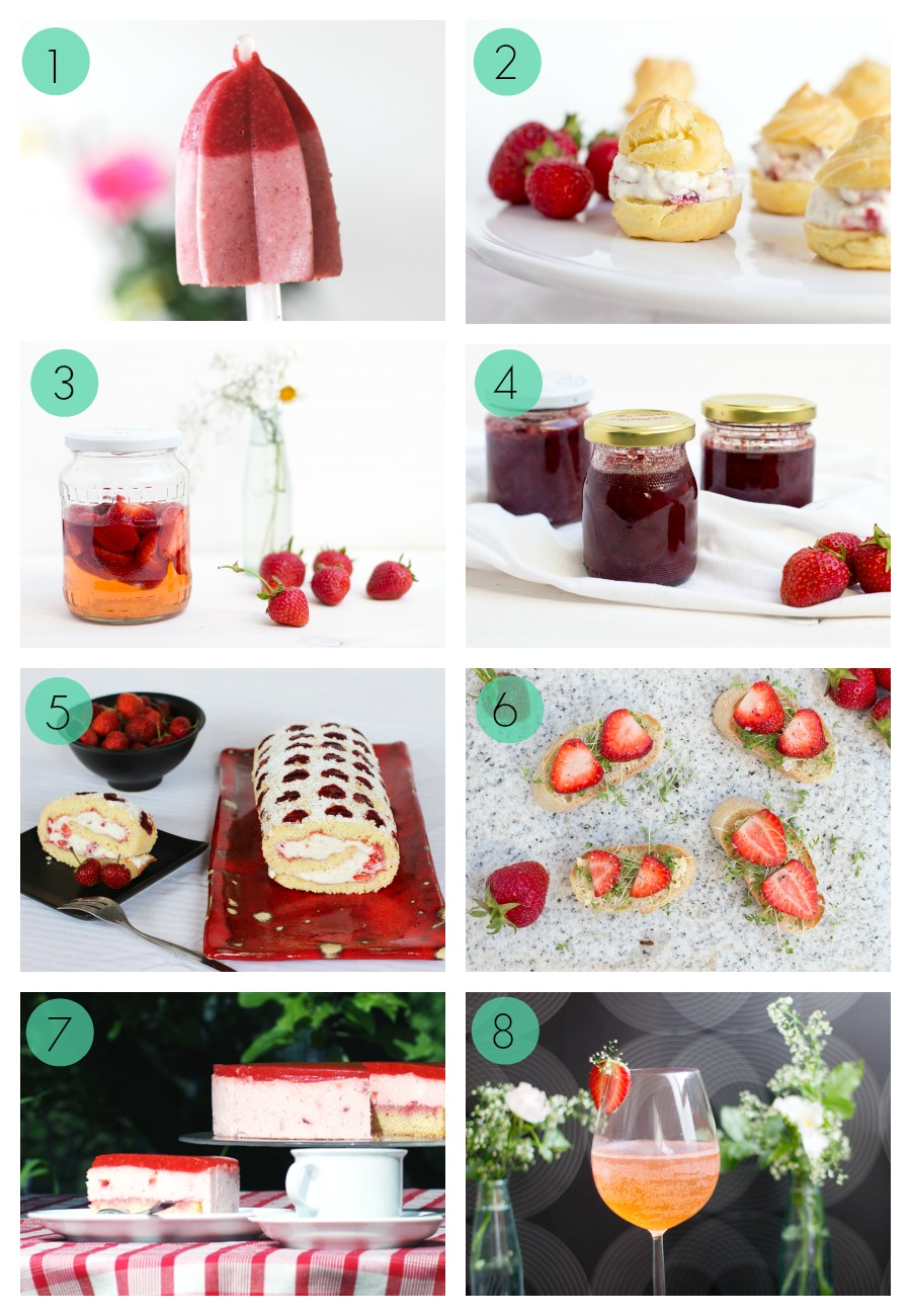 strawberries recipe collection from LOOK WHAT I MADE ...