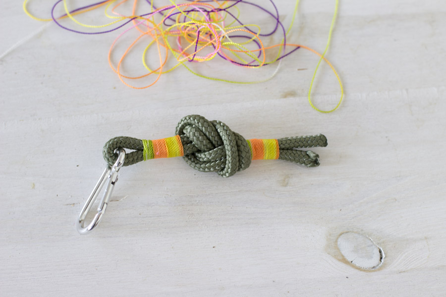 Tutorial for an easy and pretty keychain now on LOOK WHAT I MADE...