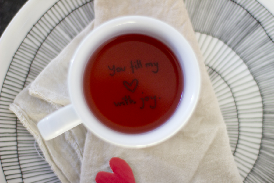 Perfect for Valentine's Day: hidden love message coffee & tea cup DIY | LOOK WHAT I MADE ...