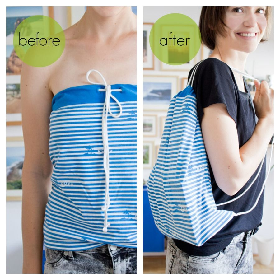 t-shirt-to-backpack