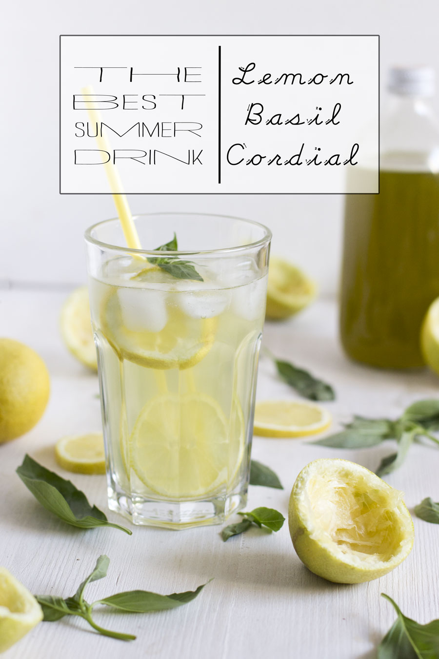 Get ready for the best summer drink: lemon basil cordial | LOOK WHAT I MADE ...