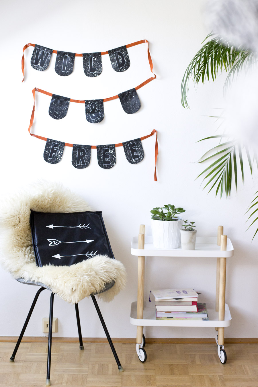 Wild and free garland DIY   LOOK WHAT I MADE ...