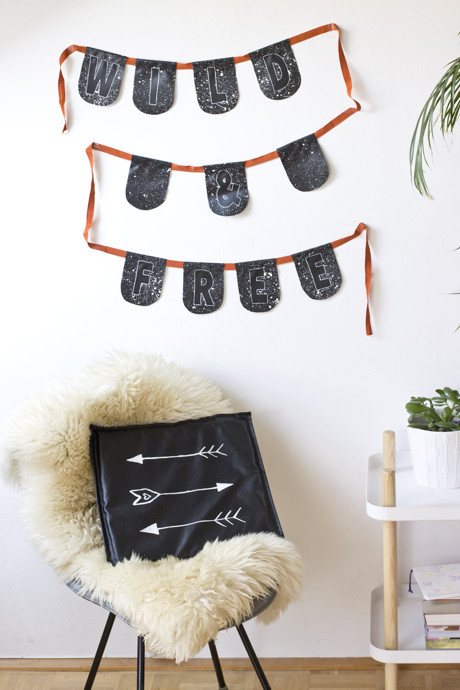 Wild and free garland DIY | LOOK WHAT I MADE ...