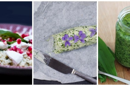 Wild garlic recipe ideas